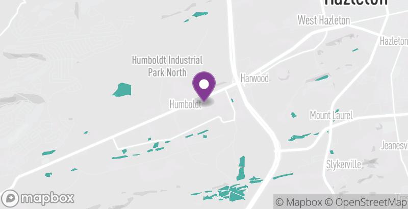 Map of Harwood Fire Company Bazaar