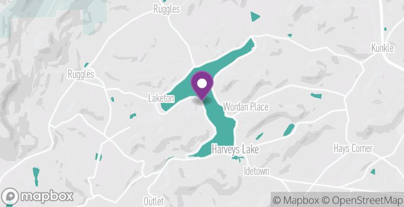 Map of Gary A. Michak Lakefest Ride 2019