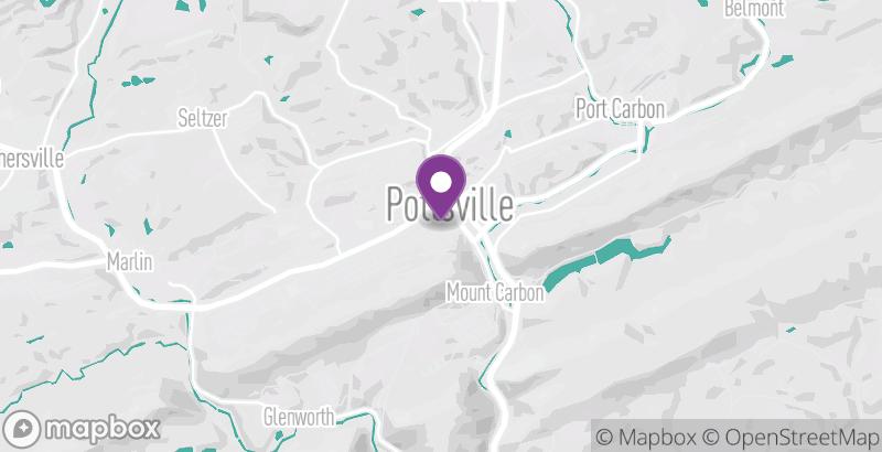 Map of Pottsville Winterfest