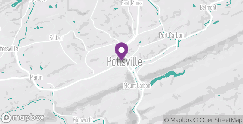 Map of Pottsville Free Public Library