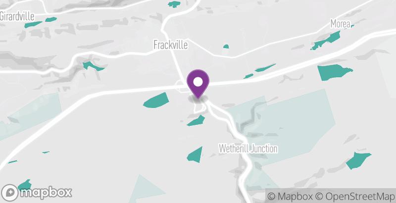 Map of Holiday Inn Express & Suites—Frackville
