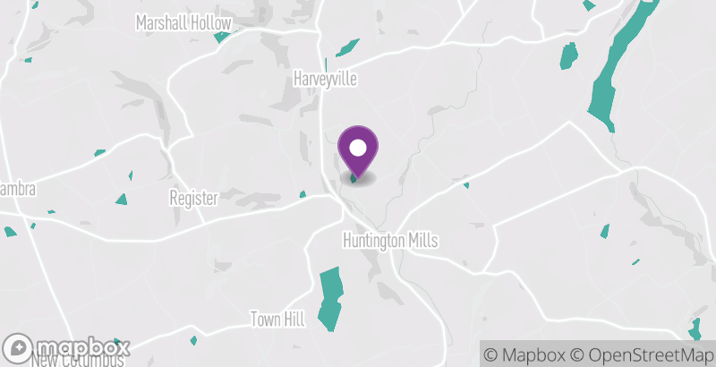 Map of Paper Mill Pines Bed and Breakfast