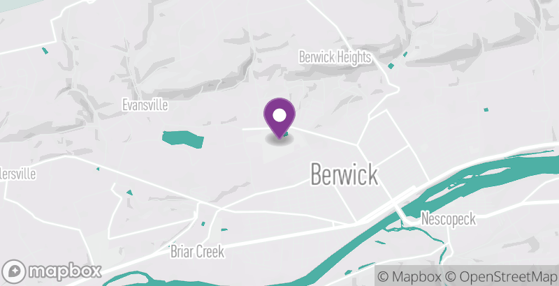 Map of Berwick Golf Club