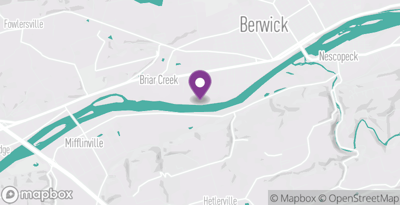 Map of Berwick's WWII Weekend