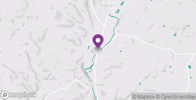 Map of Benton Antiques