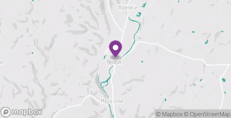 Map of Wildfire on Main