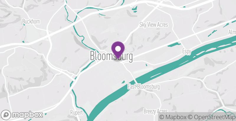 Map of Bloom'n Thai