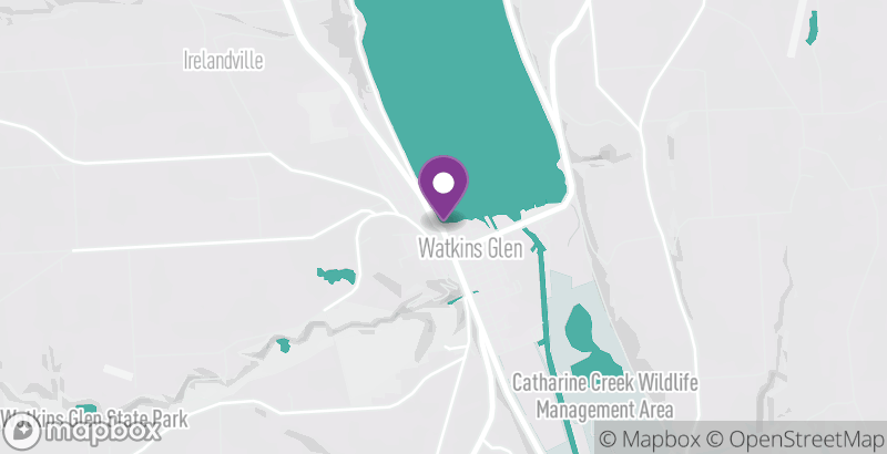 Map of Seneca Lake Wine Trail