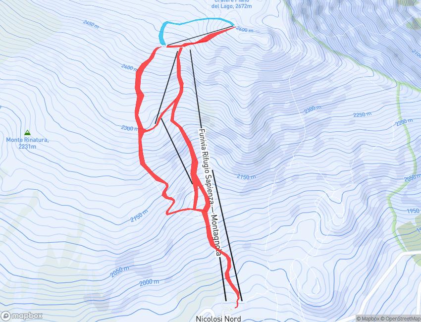 EtnaSki Map