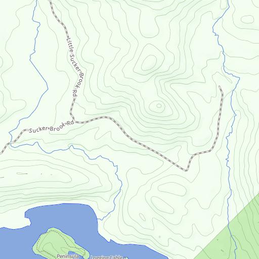 Aic trail map adirondack interpretive center esf publicscrutiny Choice Image