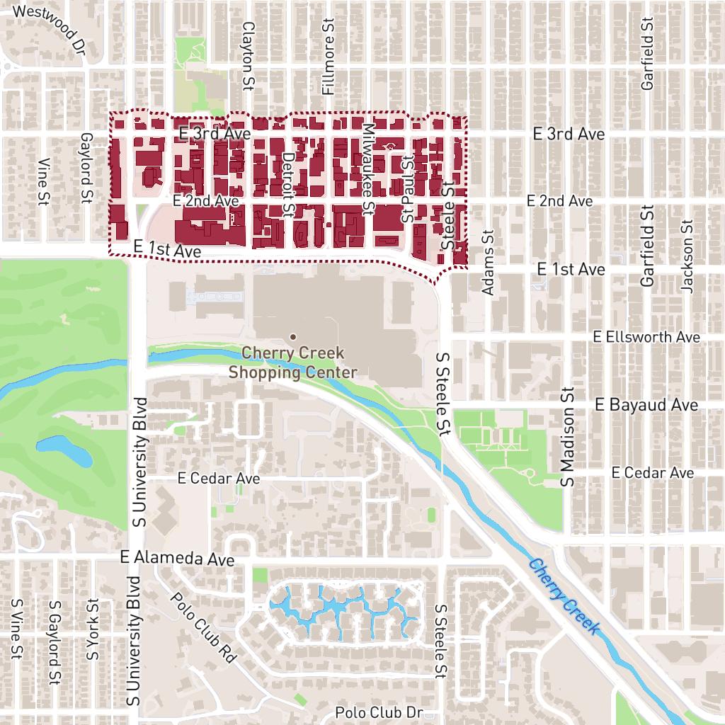 Participating Locations | Cherry Creek North | Denver, CO