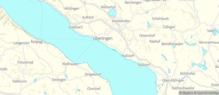 Map Of Uberlingen Germany.Canoe Rental In Uberlingen Getmyboat