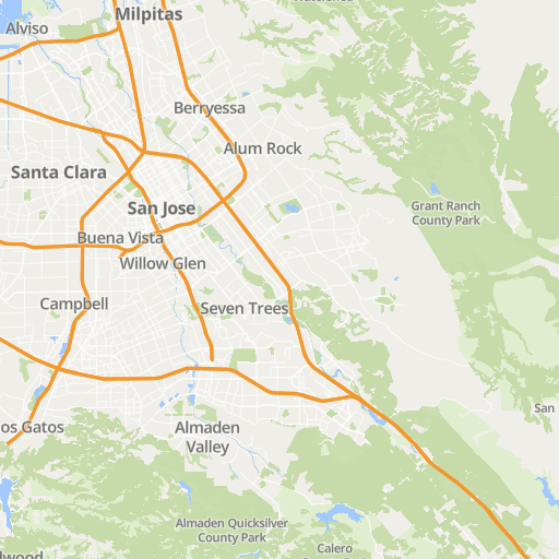 Marijuana Deliveries Near Me In San Jose CA For Medical - San jose water supply map