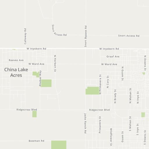 ridgecrest california map