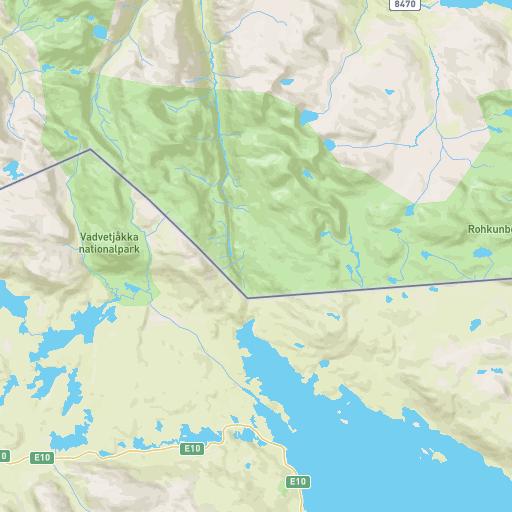 Karta Riksgransen Abisko.Hogalpin Karta Abisko Riksgransen Maporto