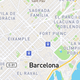 Barcelona Transportation Map | Train and Bus Stations in Barcelona Spain