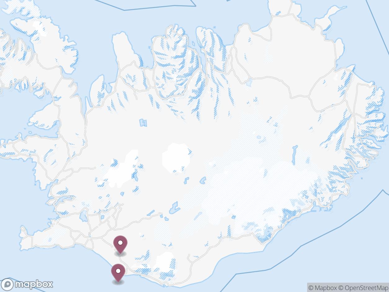 Mapbox Map of -18.358154296875,64.93750702205705