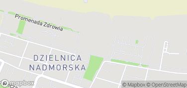 Muszla Koncertowa Promenada – mapa
