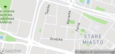 Fontanna i Plac Orła Białego – mapa
