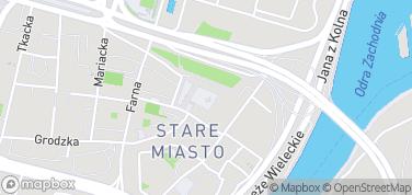 Zamek Książąt Pomorskich w Szczecinie – mapa