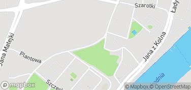 Wyspa Grodzka – mapa