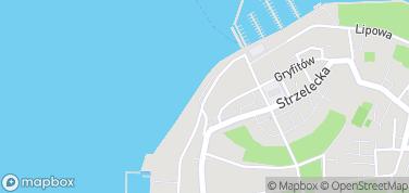 Mury obronne Furta Maślana – mapa