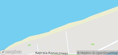 Plaża w Dziwnowie – mapa