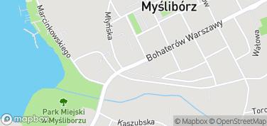 Muzeum Pojezierza Myśliborskiego – mapa