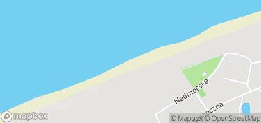 Plaża Pustkowo – mapa