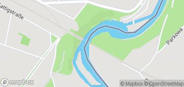 Most kolejowy – mapa