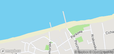 Niechorze plaża – mapa