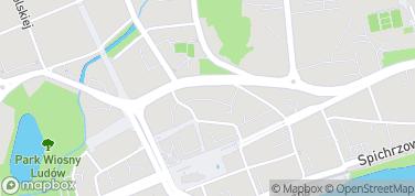 Mury miejskie – mapa