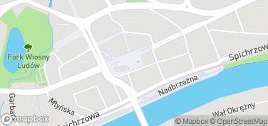 Gorzowska Aleja Gwiazd – mapa