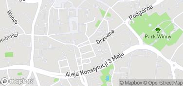 Minibrowar Haust – mapa
