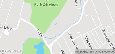 Termy Cieplickie – mapa