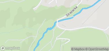 Dziki Wodospad – mapa