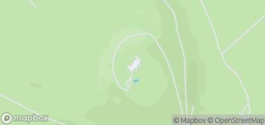 Zamek Grodziec – mapa