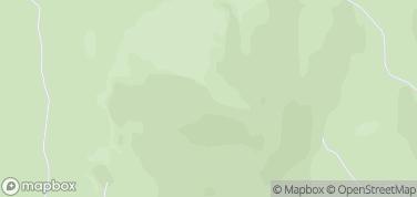 Krzyżna Góra – mapa