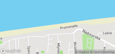 Sarbinowo, plaża – mapa