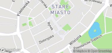 Śledziówki – mapa
