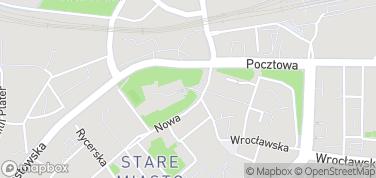 Zamek Piastowski w Legnicy – mapa
