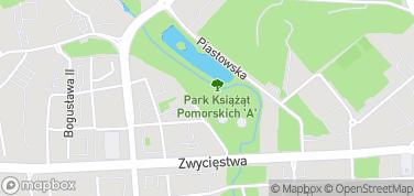 Park im. Książąt Pomorskich – mapa