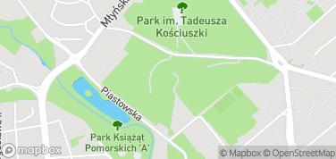 Amfiteatr w Koszalinie – mapa