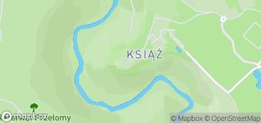 Zamek Książ – mapa