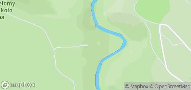 Ruiny Zamku Stary Książ – mapa