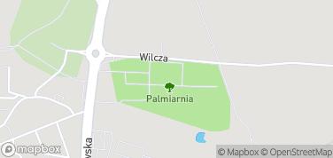 Palmiarnia – mapa
