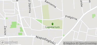 Lapidarium Rzeźby Nagrobnej – mapa