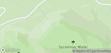 Schronisko PTTK na Szczelińcu – mapa