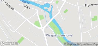 Wyspa Łososiowa – mapa