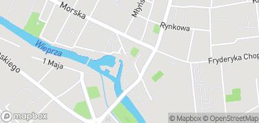 Zamek Książąt Pomorskich w Darłowie - Muzeum Regionalne – mapa